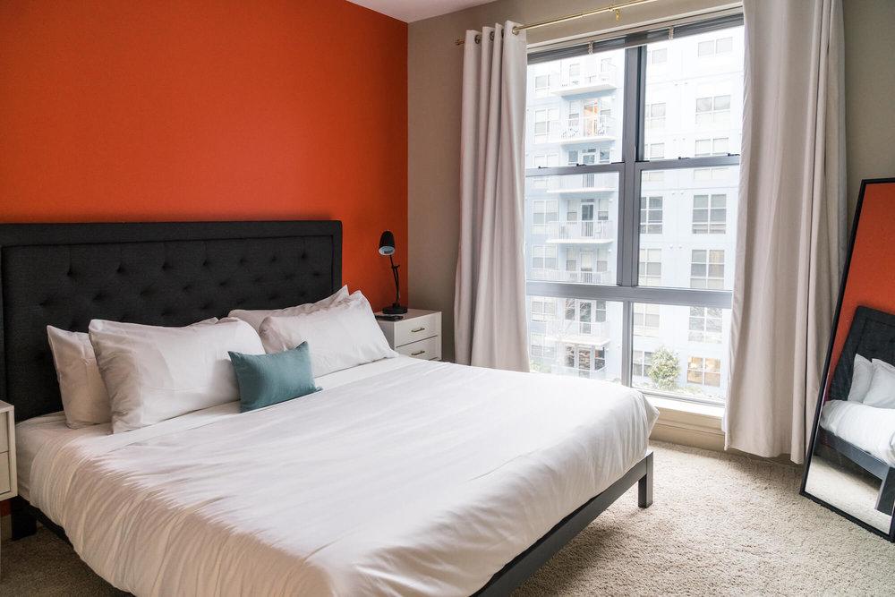 Bedroom at Radius at The Banks