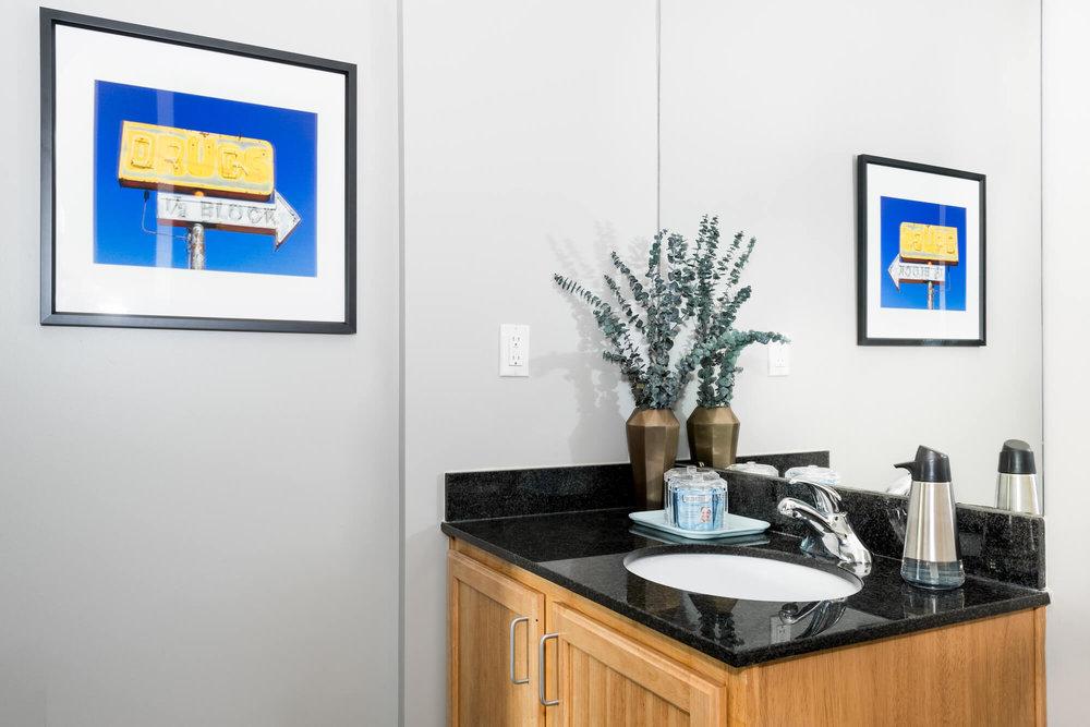 Bathroom at Radius at The Banks