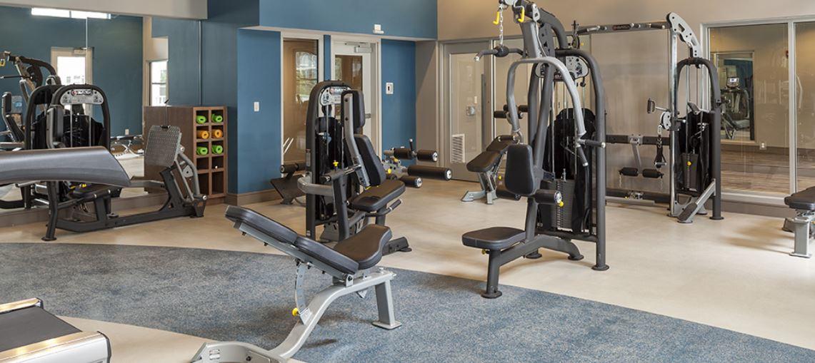 Fitness Centre at Radius at The Banks