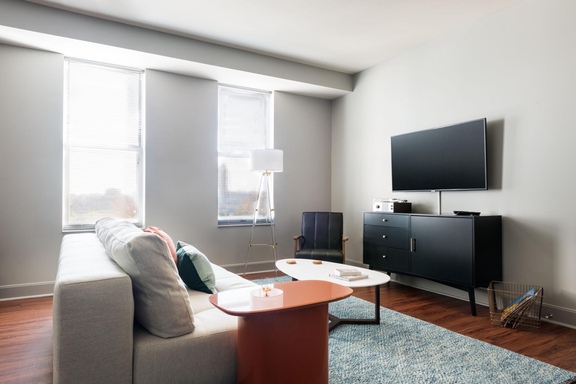 Living Room at Radius at The Banks