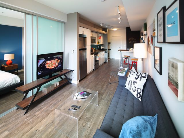 Living Room at Ava Ballard Apartment