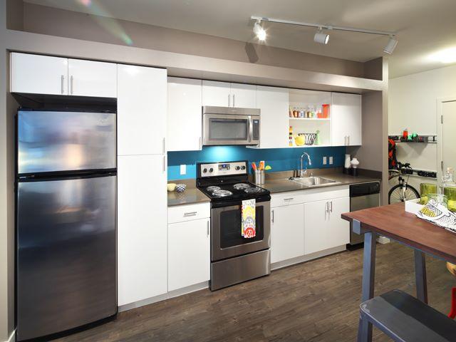 Kitchen at Ava Ballard Apartment