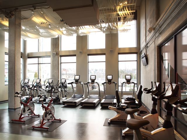 Fitness Centre at Ava Ballard Apartment