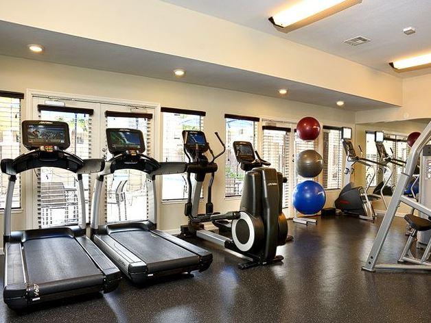 Gym at Avalon Walnut Creek Apartment
