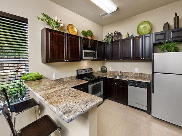 Kitchen at Avalon Walnut Creek Apartment