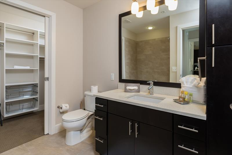 Bathroom at Channel Mission Bay Apartments