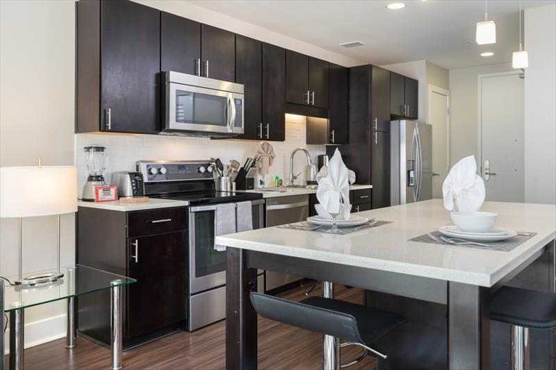 Kitchen at Channel Mission Bay Apartments