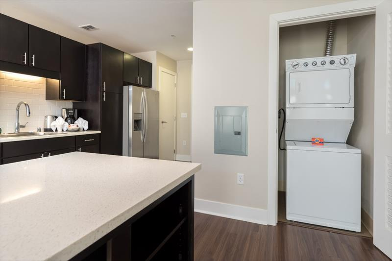 Modern kitchen at Channel Mission Bay Apartments