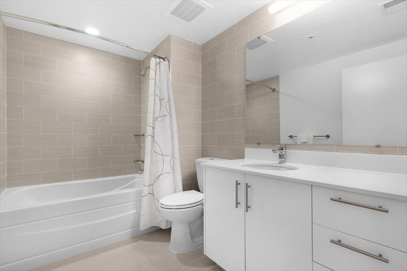 Bathroom at City Center Apartments