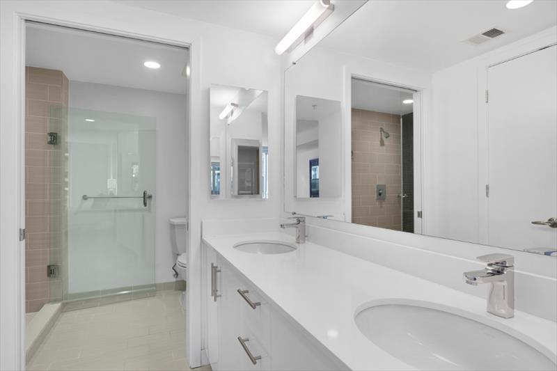 Sink at City Center Apartments