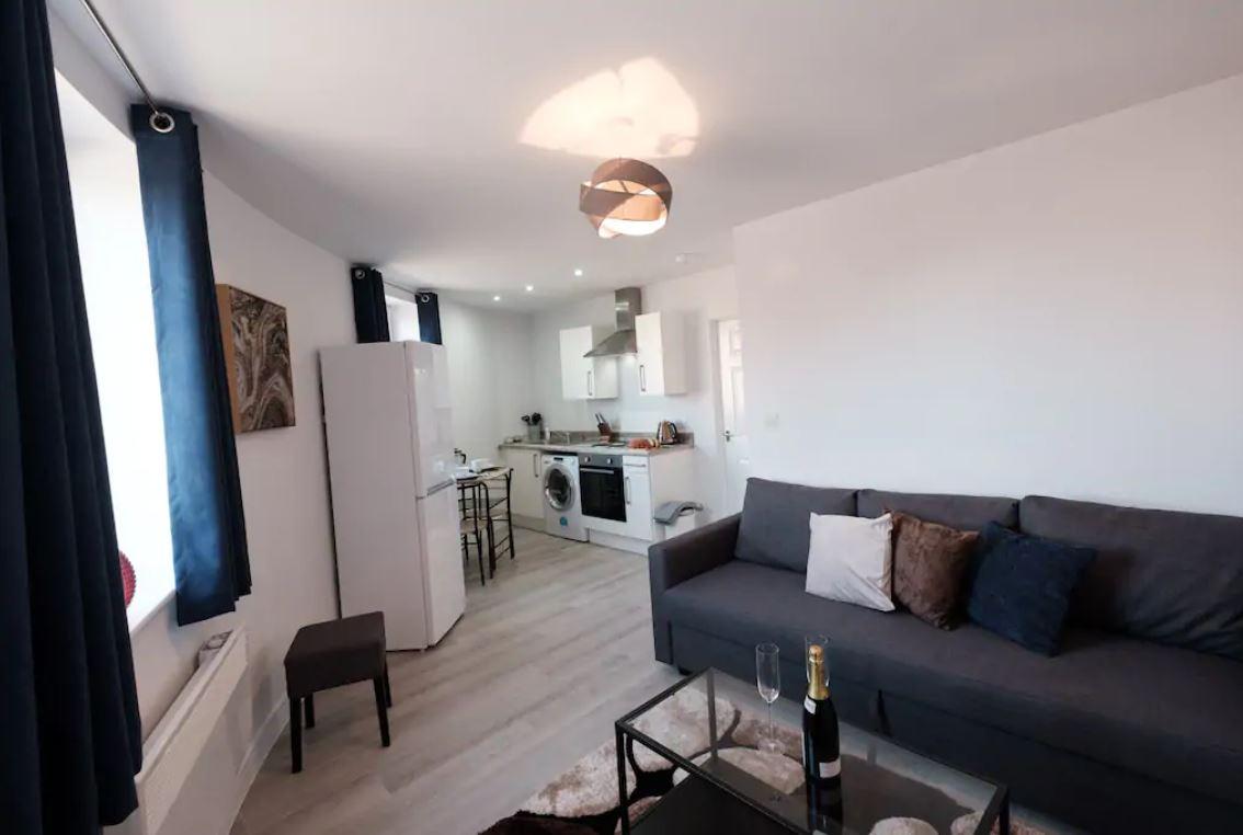 Sofa at Barall Court Apartments