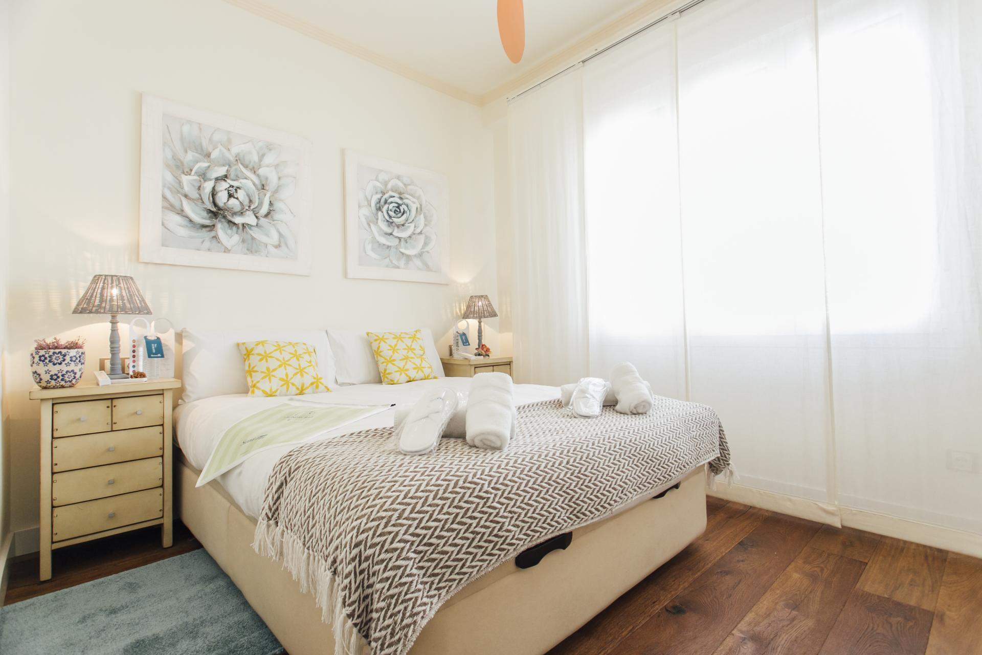 Bedroom at Arjona Apartment, Centre, Seville