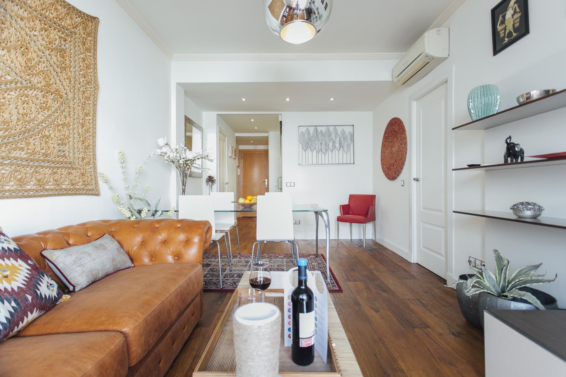 Lounge at Arjona Apartment, Centre, Seville