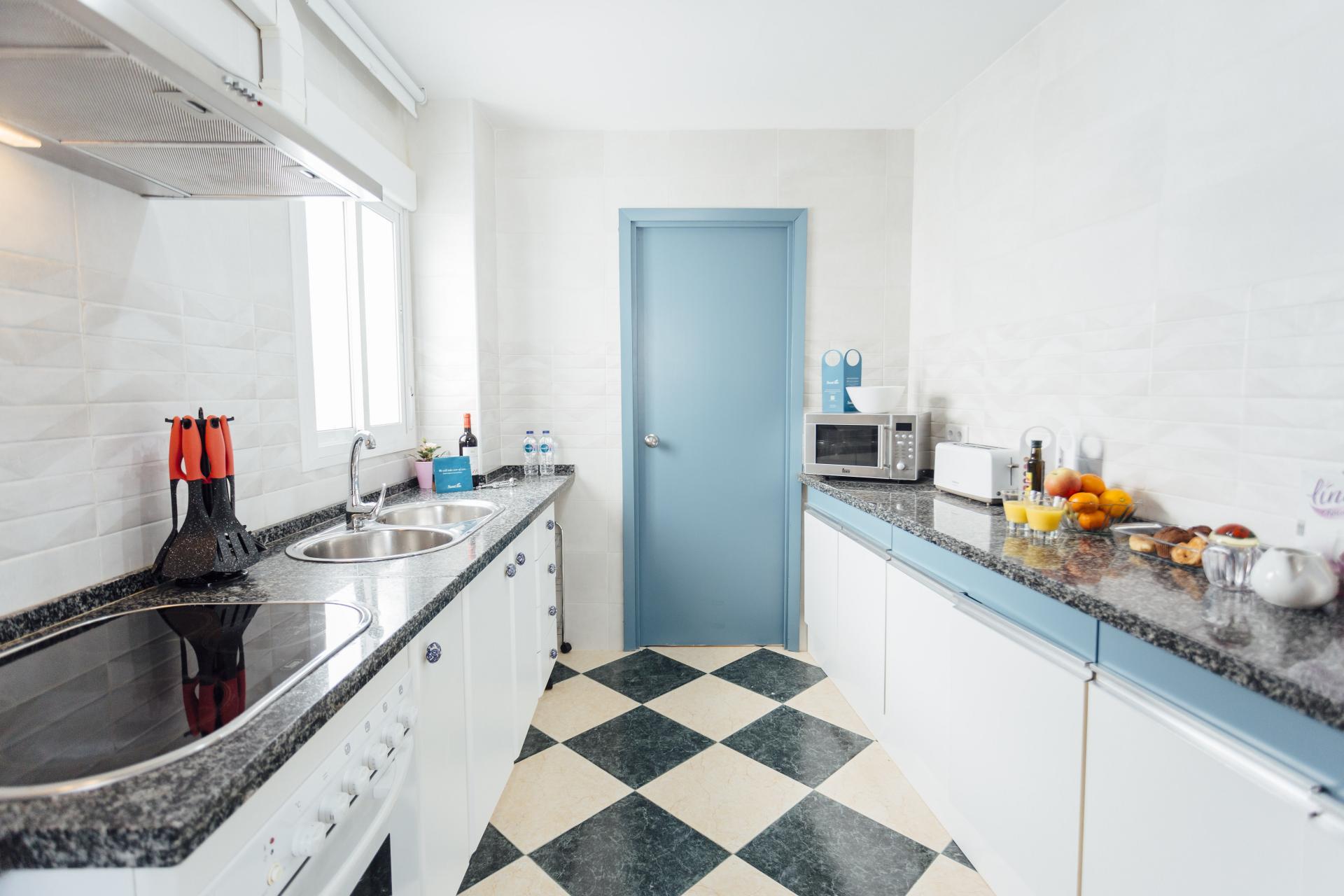 Kitchen at Plaza de Zurradores Apartment