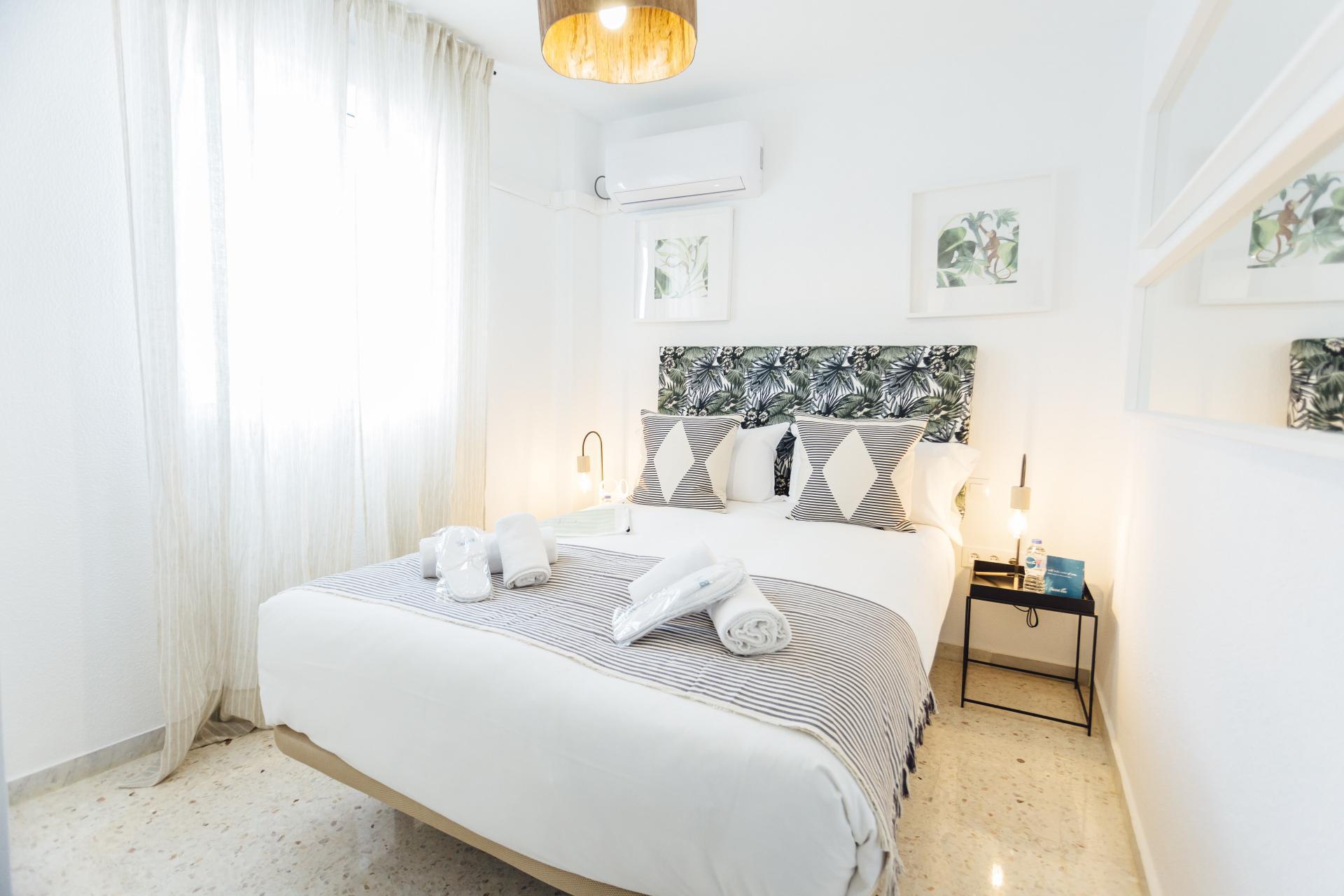 Bedroom at Plaza de Zurradores Apartment
