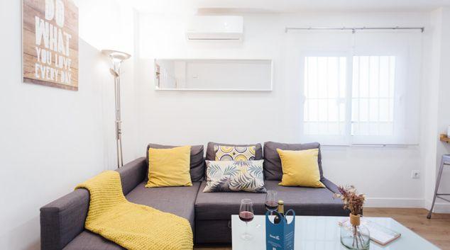 Living area at Salinas Apartment
