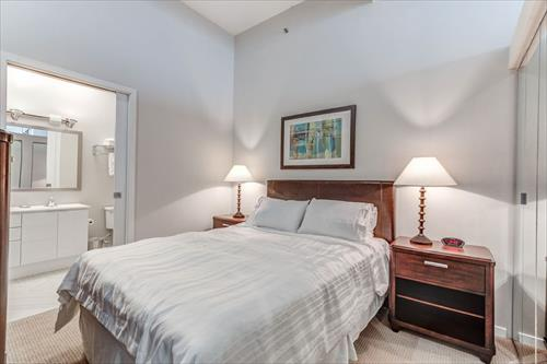Bedroom at City Place Apartments