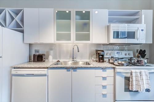 Kitchen at City Place Apartments