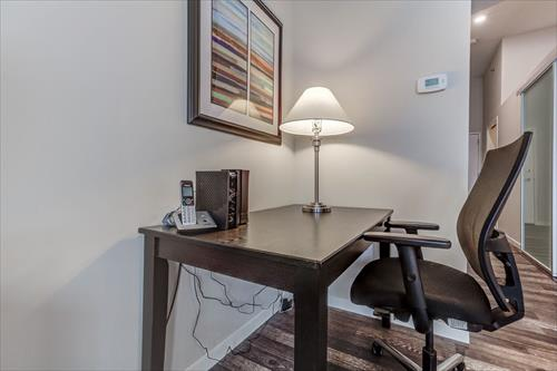 Desk and Chair at City Place Apartments
