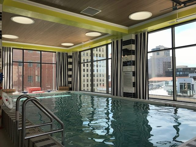 Pool at City Place Apartments