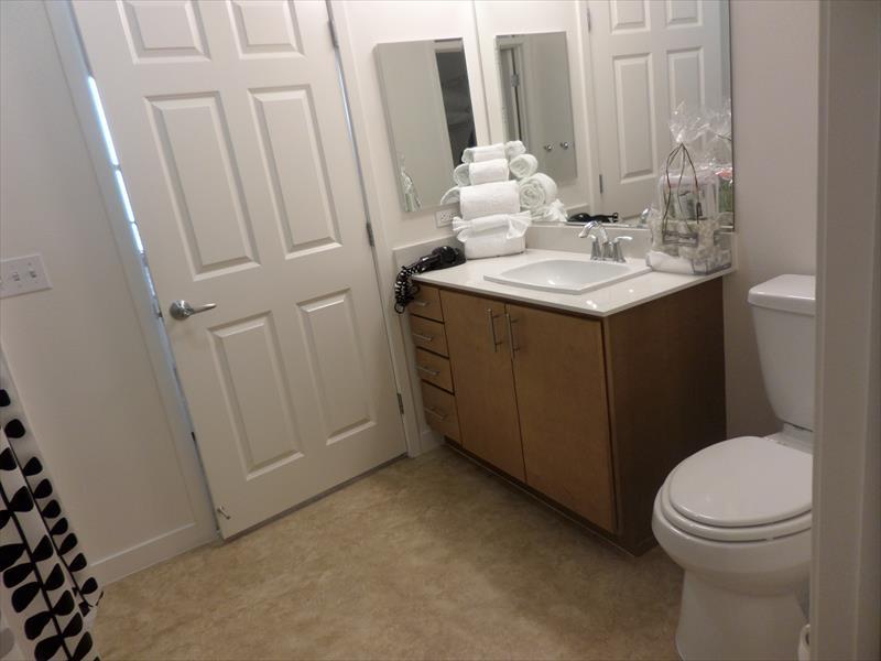 Bathroom at Epic Serviced Apartments