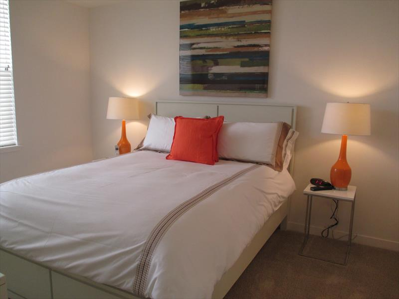 Bed at Epic Serviced Apartments