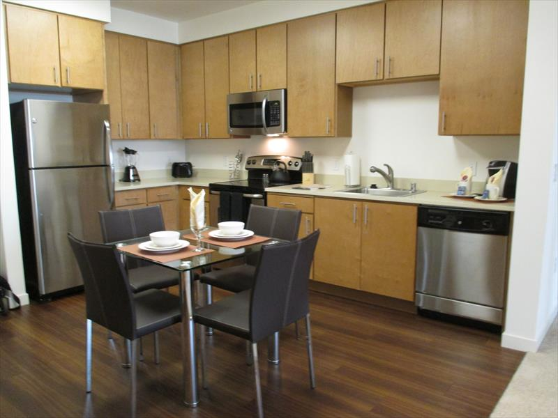 Dining area at Epic Serviced Apartments