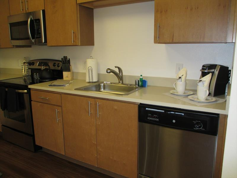 Sink at Epic Serviced Apartments