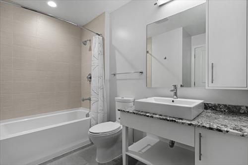 Bathroom at Flats 8300 Apartments