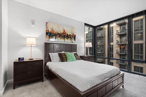 Bedroom at Flats 8300 Apartments