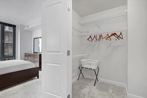 Wardrobe at Flats 8300 Apartments