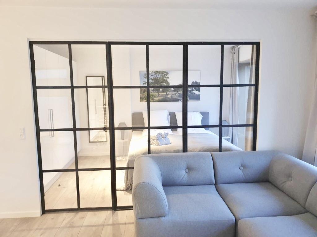 Modern bedroom at Aarhus Serviced Apartments