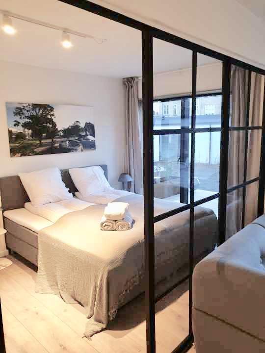 Bedroom at Aarhus Serviced Apartments