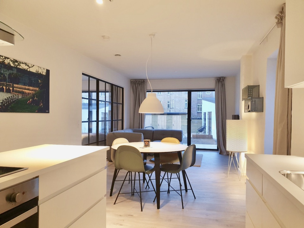 Living room at Aarhus Serviced Apartments