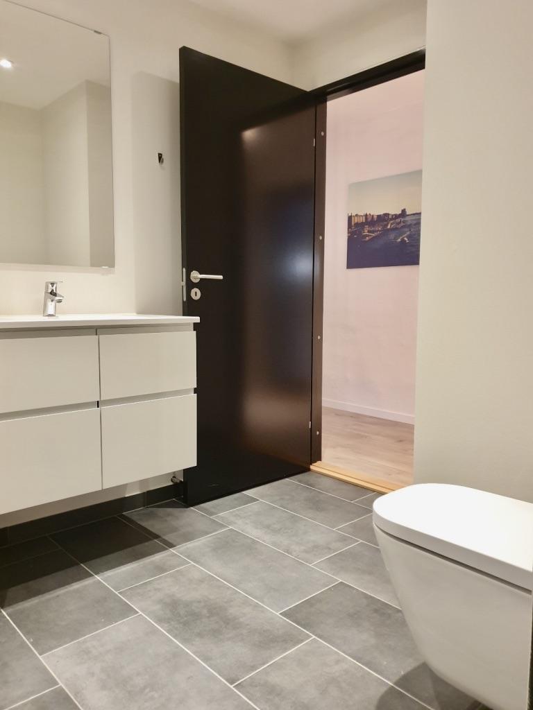 Modern bathroom at Aarhus Serviced Apartments