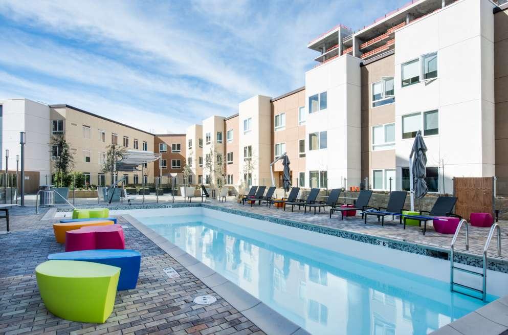 Pool at MB360 I Apartments