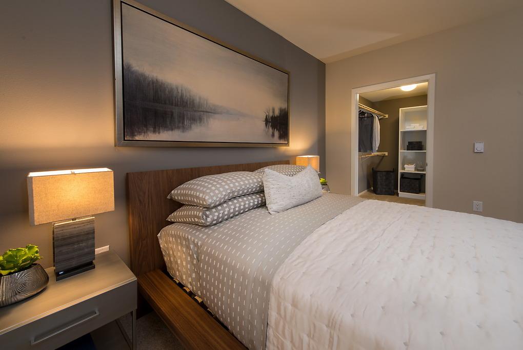 Bedroom at MB360 I Apartments