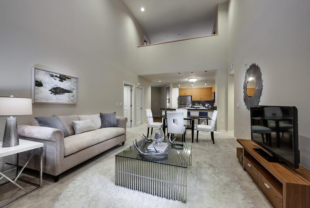 Sofa at MB360 I Apartments