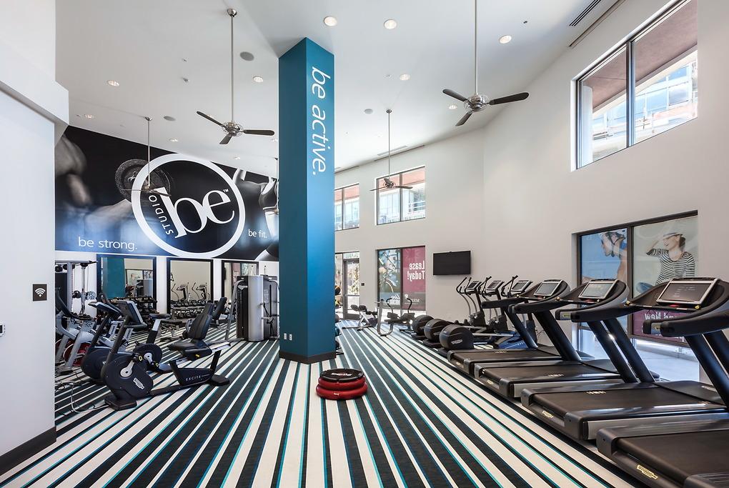 Gym at MB360 I Apartments