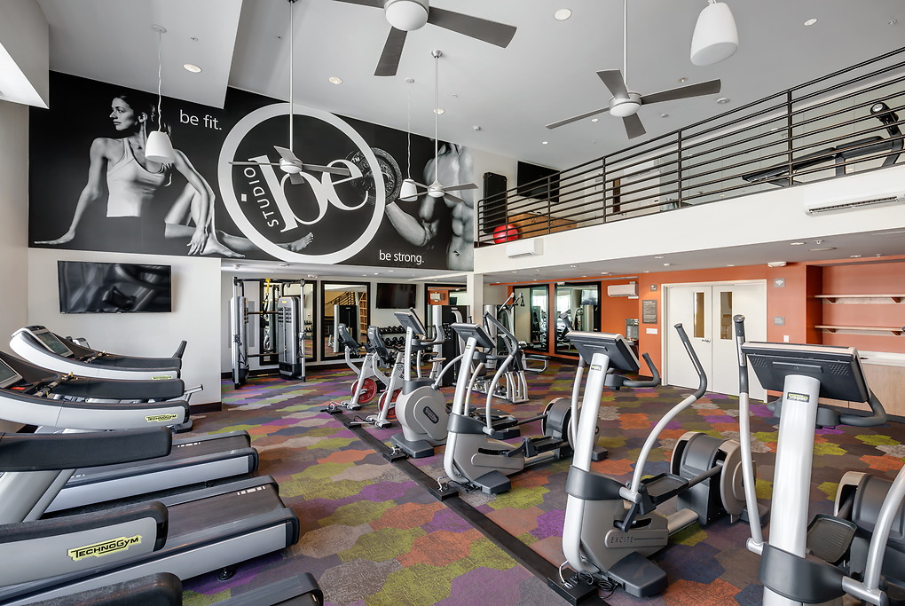 fitness centre at MB360 I Apartments