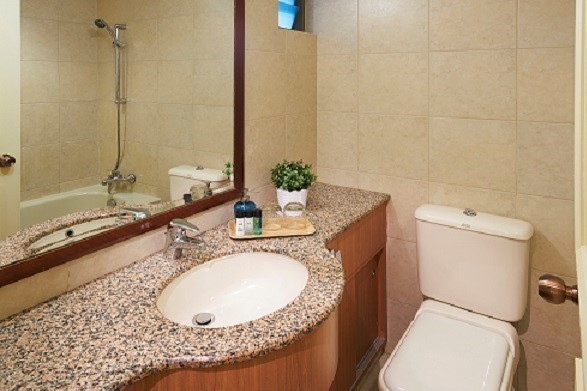 Bathroom at Hougang Residence, Singapore