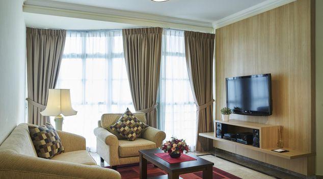 Living room at Village Residence West Coast, Singapore
