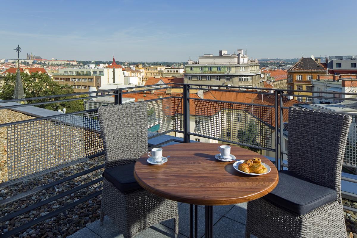 Balcony at Mamaison Residence Downtown Prague