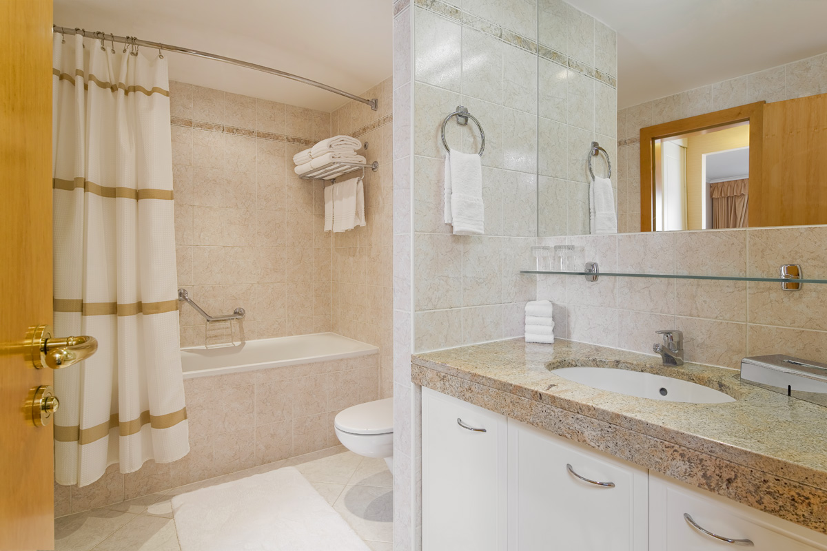 Bathroom at Mamaison Residence Downtown Prague