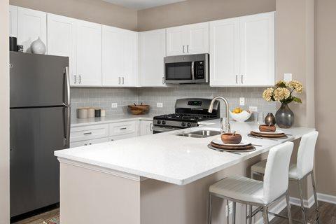 Kitchen 803 Corday Apartment