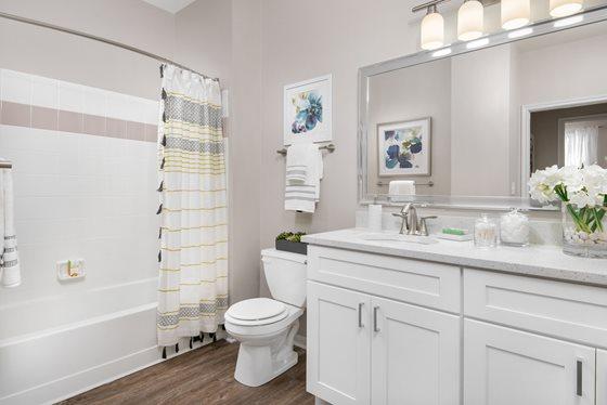 Bathroom 803 Corday Apartment