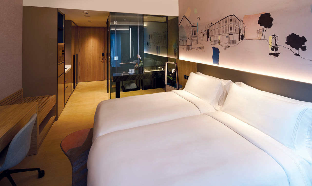 Beds at the Capri By Fraser China Square, Singapore