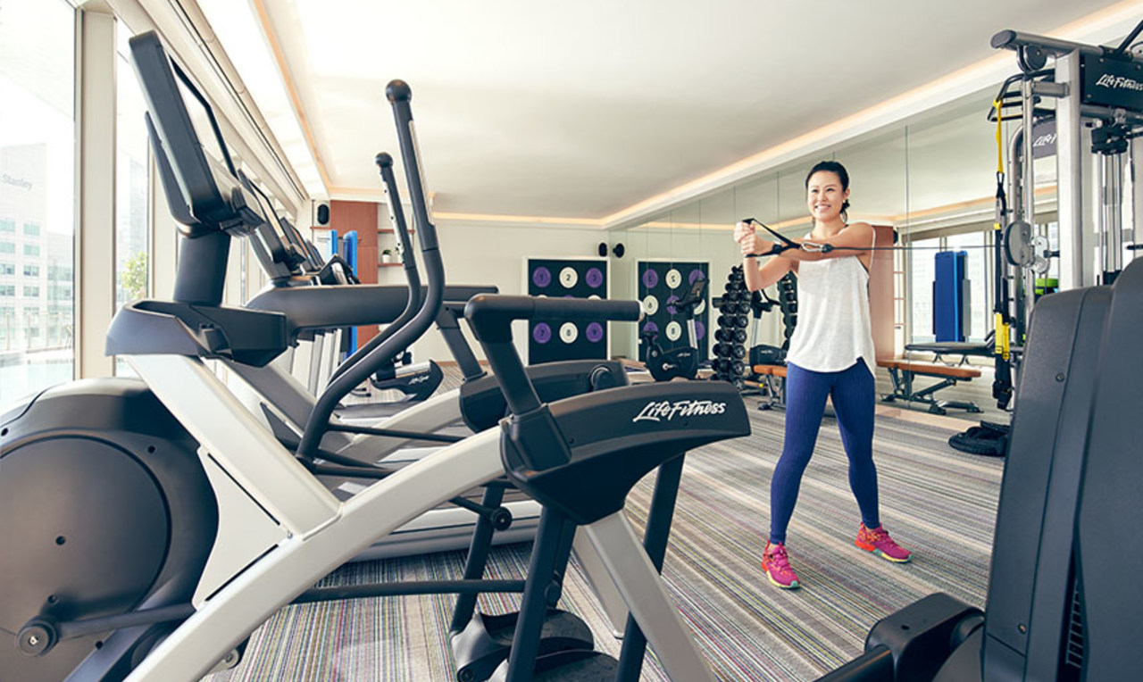 Gym at the Capri By Fraser China Square, Singapore