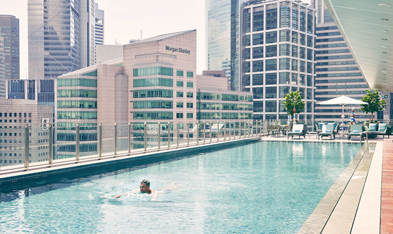 Pool at the Capri By Fraser China Square, Singapore