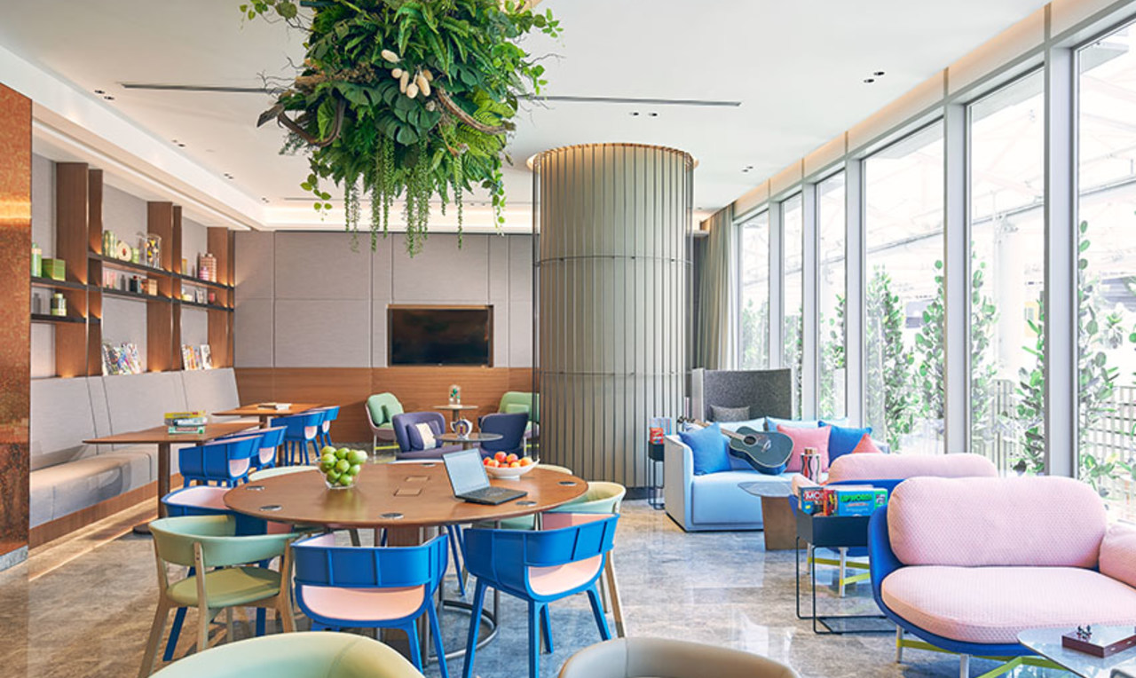 Lounge at the Capri By Fraser China Square, Singapore